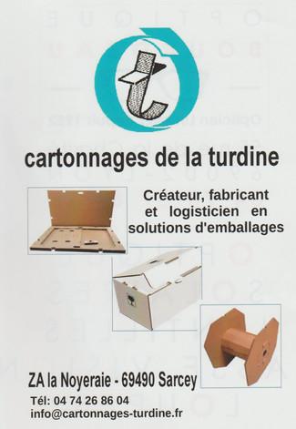 Cartonnages de la Turdine