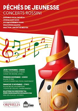 1911 Concert peches de jeunesse Rossini