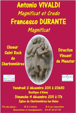 Concert Dec 2011 F Durante