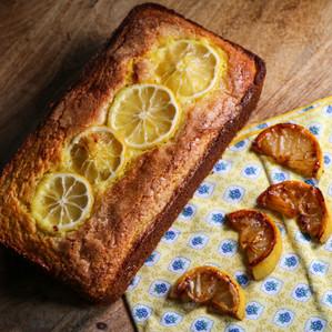Alison Roman's lemony turmeric tea cake