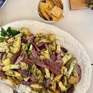 fingerling 'tater salad