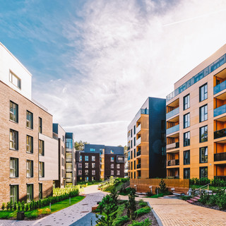 EU Modern european complex of apartment
