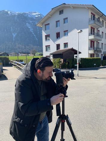 Picardi Photography GmbH, Andrea Daniele Picardi bei der Arbeit