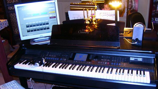 Yamaha Clavinova computer station