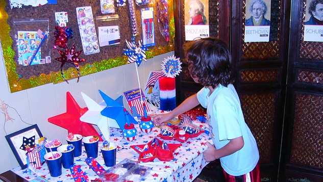 Patriotic Reward Table- New theme every 2 weeks!