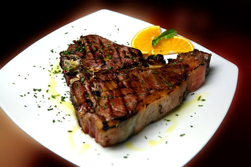 "Porterhouse Steak 1.5"" thick"