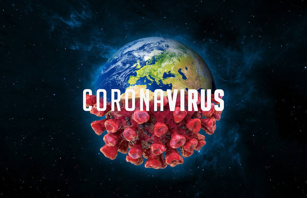 Picture of Coronavirus and the earth