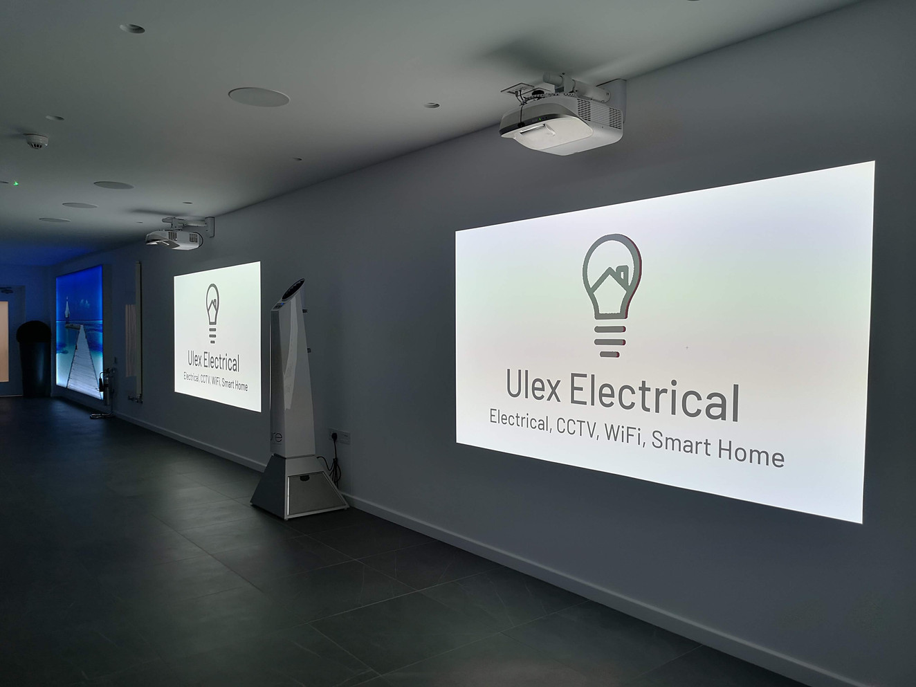 Showroom Automation System Installation