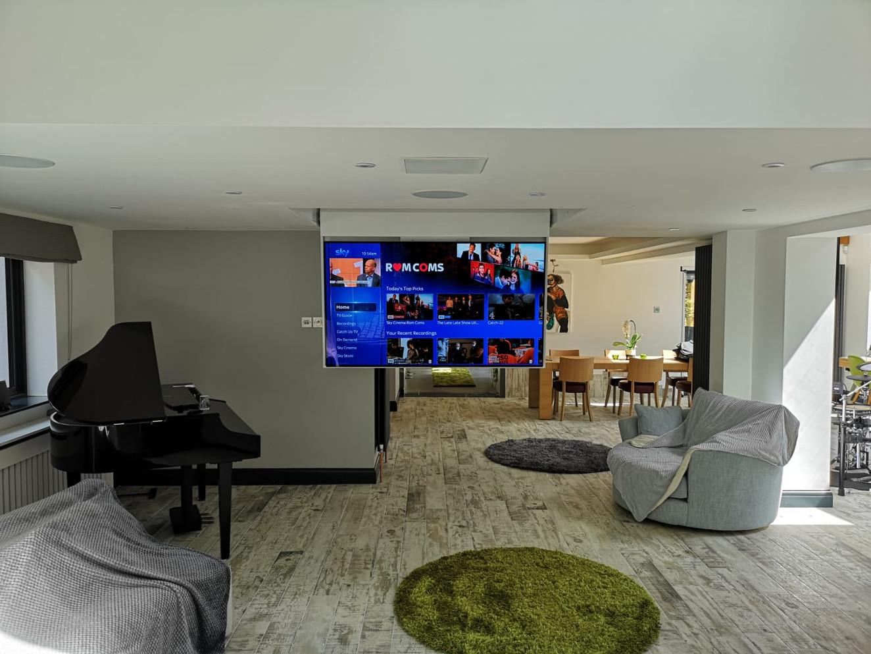 Discrete TV & 5.1 Surround Sound Installation