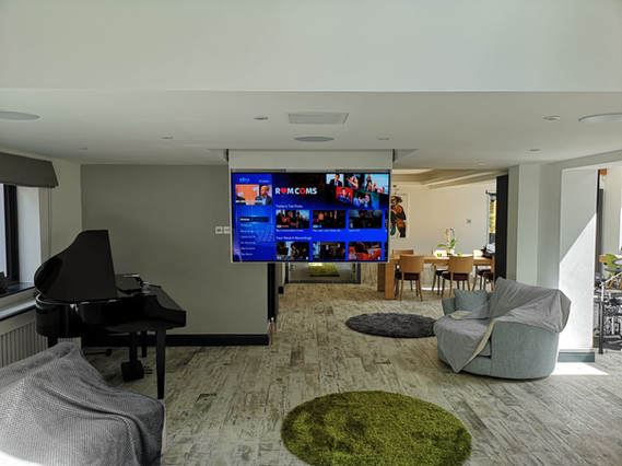 Discrete TV & 5.1 Surround Sound Installation
