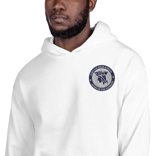 Embroidered John Jay Seal Super Soft Unisex Hoodie