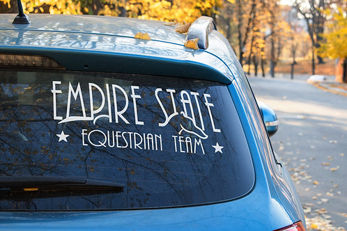 Empire State Equestrian Team Vinyl Decal