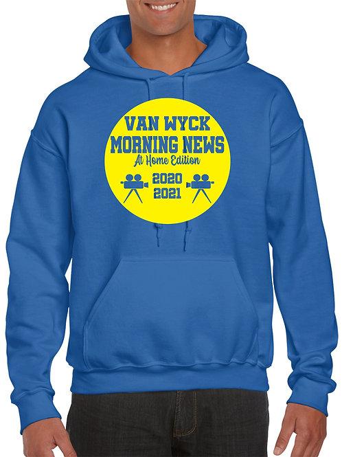 Van Wyck Morning News Sweatshirt Ultra Soft & Comfy