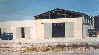 Création d'un nouveau bâtiment pour les remorques Espaces Verts