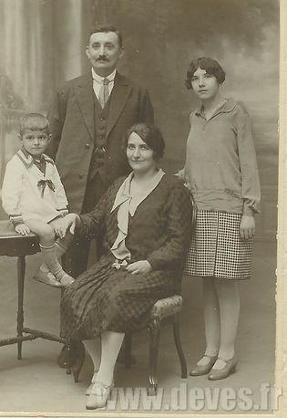 La Famille de Léon Devès, à l'origine des Remorques Devès