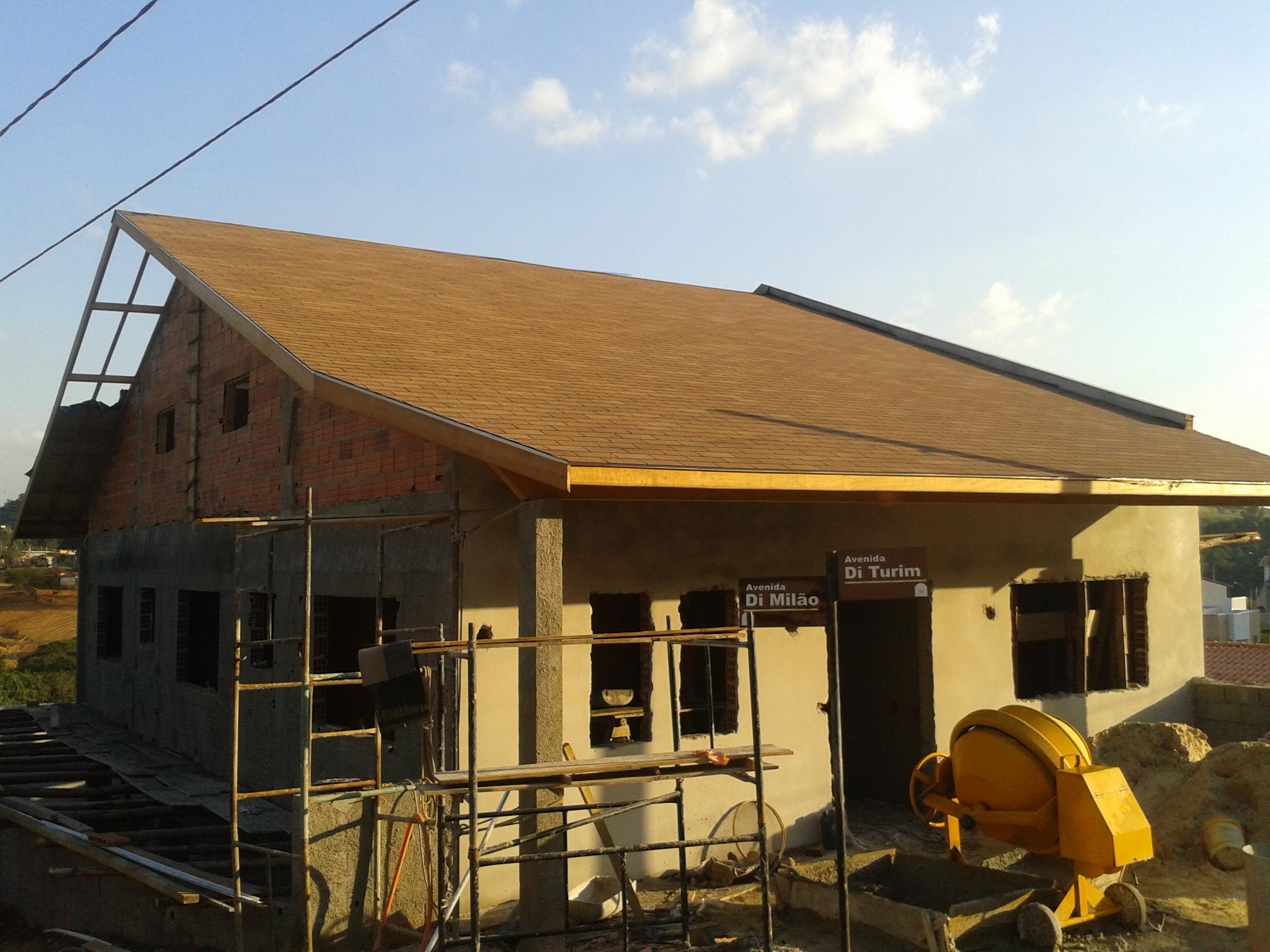 telhados steel framing