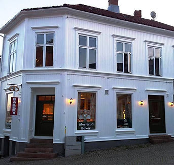 Morterud Bakeri, Løkkestredet 4, Grimstad
