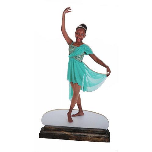 """9"""" Picture Statuette"""