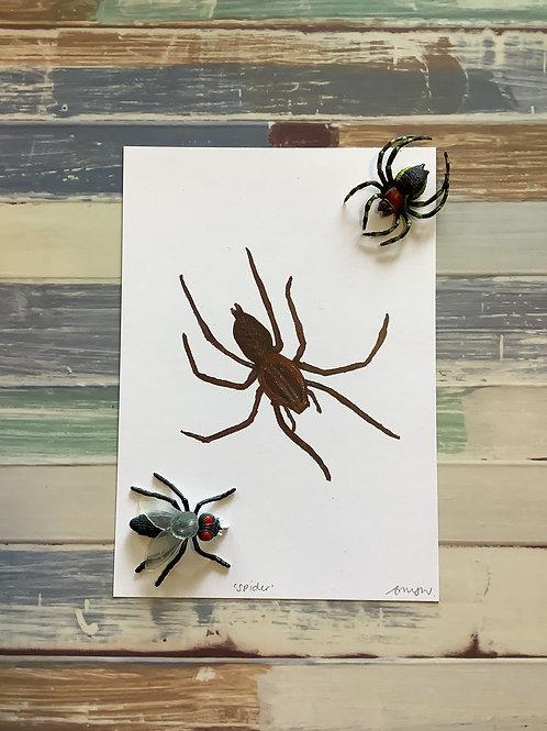Spider A5 Heavy Weight Art Print