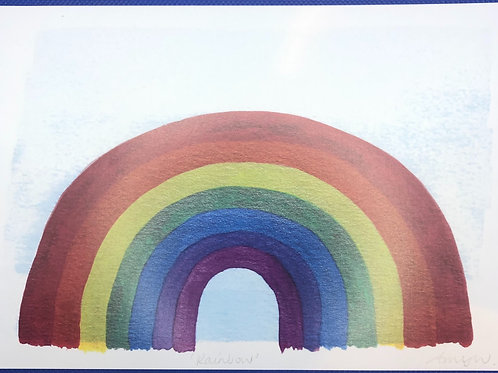 Rainbow A5 Heavy Weight Art Print