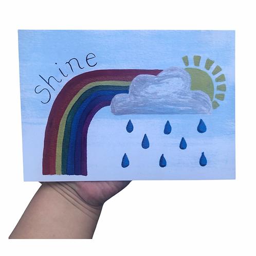 Shine A5 Heavy Weight Art Print