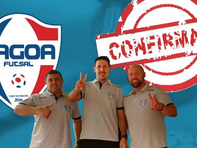 Comissão Técnica do Lagoa Futsal é confirmada