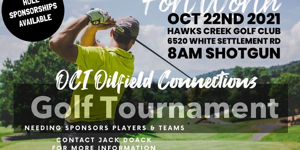 Fort Worth OCI - 2nd Annual Golf Tournament