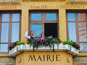 Our Tiny Pandemic Wedding in France