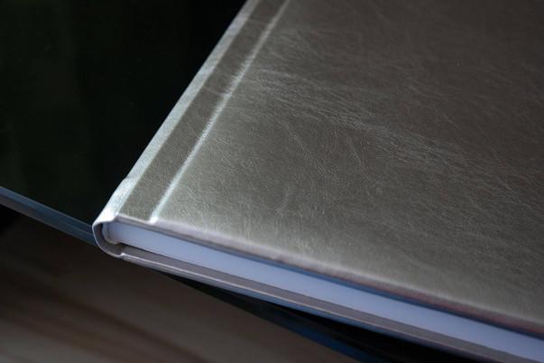 fotoksiążka okładka srebrna