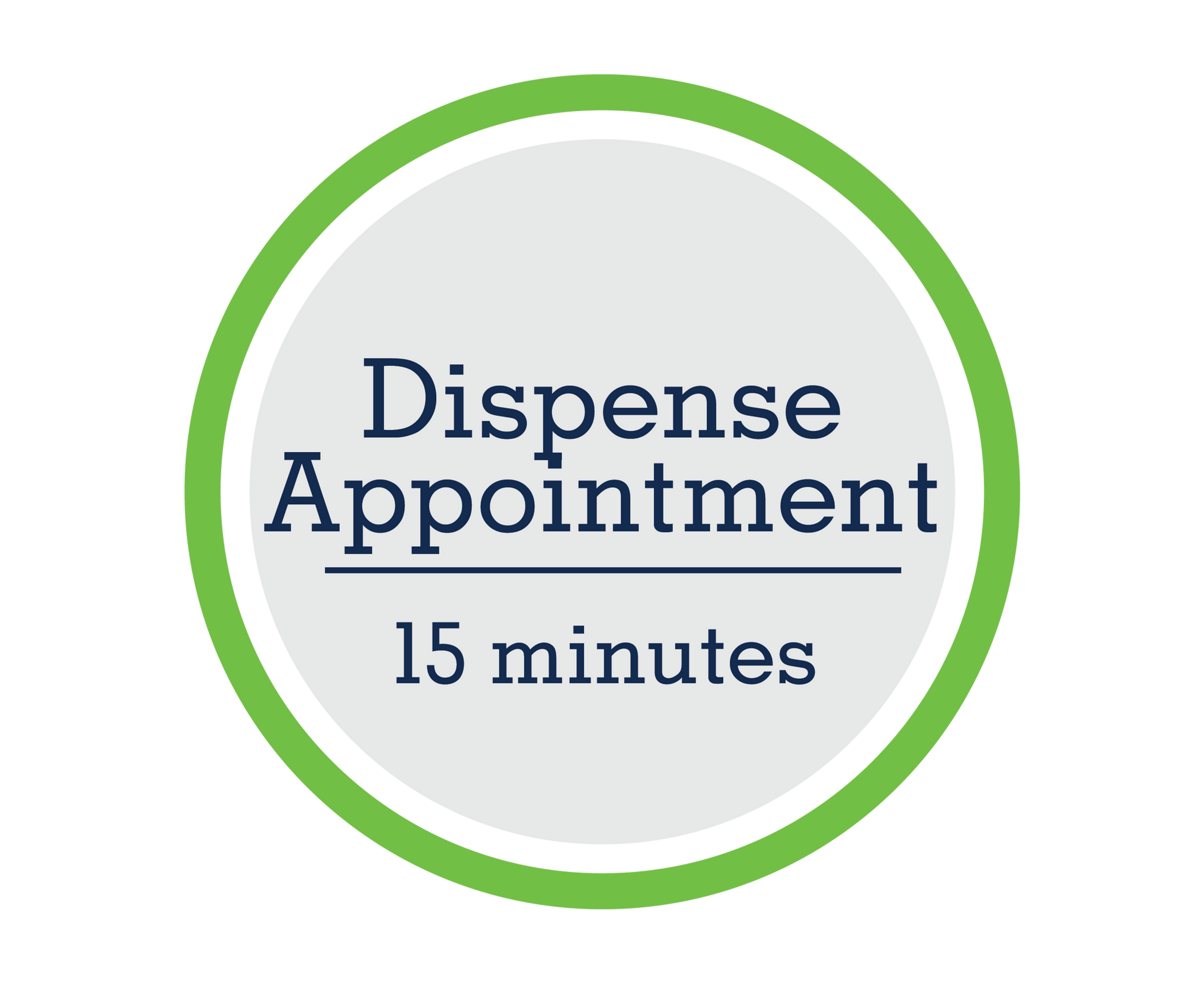 Dispense Appointment