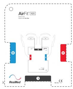 Sizing Guide AirFit N20 Nasal Guide