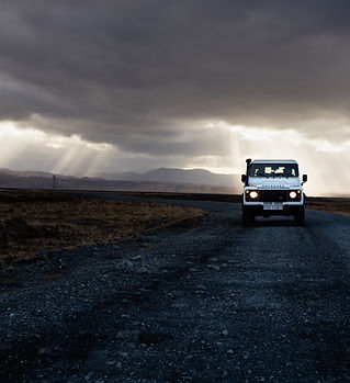 Land Rover Defender Iceland