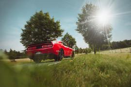 Dodge Challenger Hellcat av Anne Ziegan