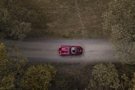 Jaguar E-Type av John Mattisson