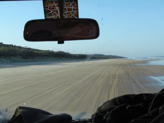 Sand Driving
