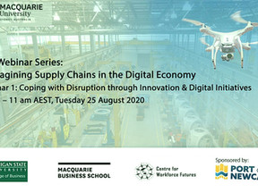 PROF. NORMA HARRISON: COPING WITH DISRUPTION THROUGH INNOVATION & DIGITAL INITIATIVES