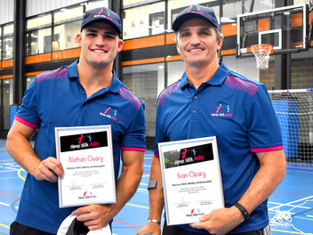NATHAN & IVAN CLEARY BECOME HEROES WITH ABILITY AMBASSADORS