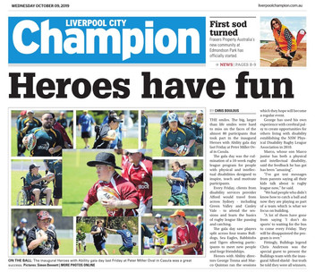 PRESS: LIVERPOOL CITY CHAMPION - 9th October 2019