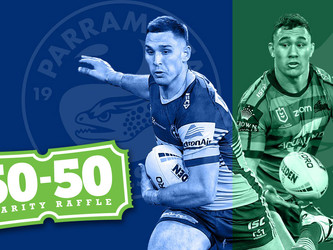 PARRAMATTA EELS AND HEROES WITH ABILITY: GO 50-50 AND YOU CAN WIN THOUSANDS!