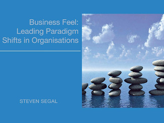 PUBLICATION: BUSINESS FEEL - LEADING PARADIGM SHIFTS IN ORGANISATIONS