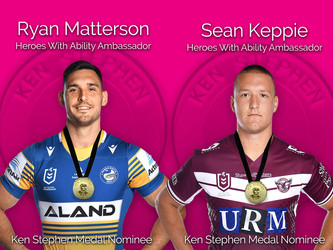 HEROES WITH ABILITY AMBASSADORS NOMINATED FOR ONE OF RUGBY LEAGUE'S MOST PRESTIGIOUS AWARDS OF 2021