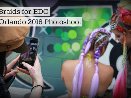 You Have To See These Custom Braid Hairdos For EDC Orlando 2018