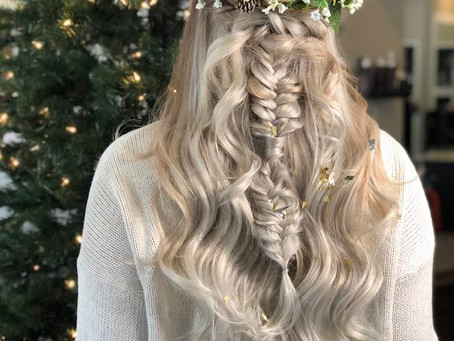3 Hairstyles For Any Christmas Event