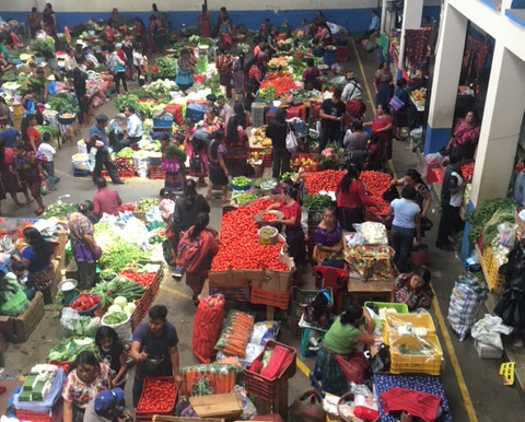 Mercado de Chichicastenango en Guatemala - Recuerdos