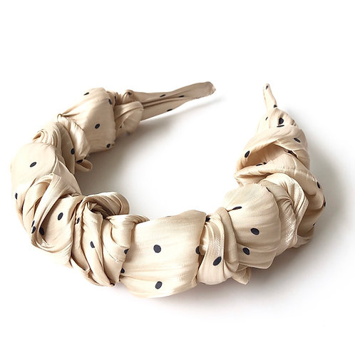 Headband Polka L