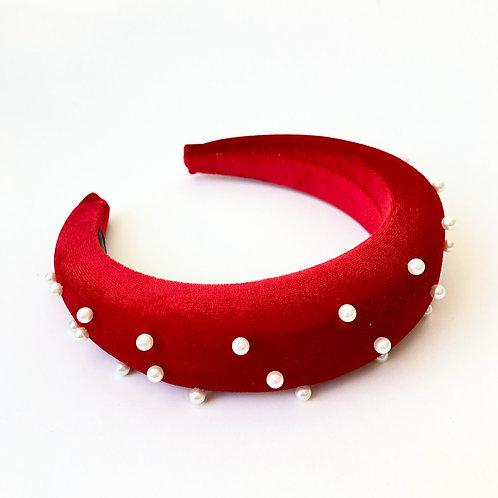 Headband Letizia Perlas