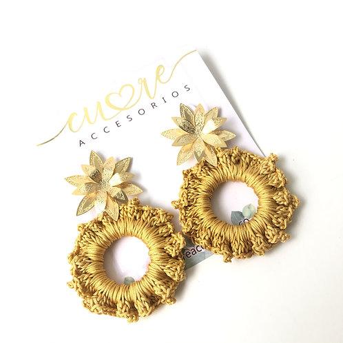 Aretes Tropic Flor