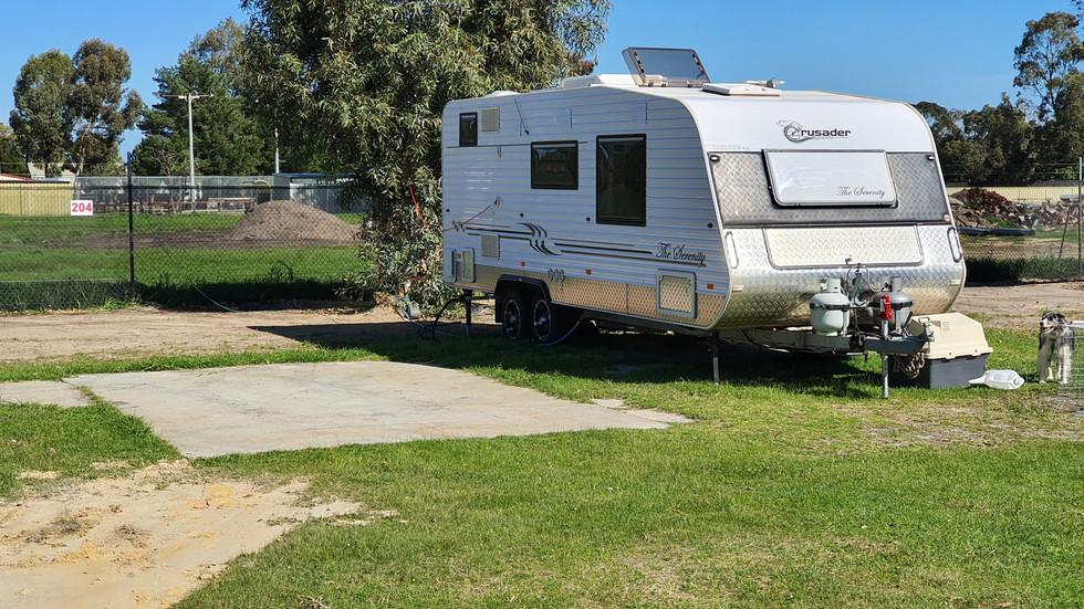 Extra Large caravan site