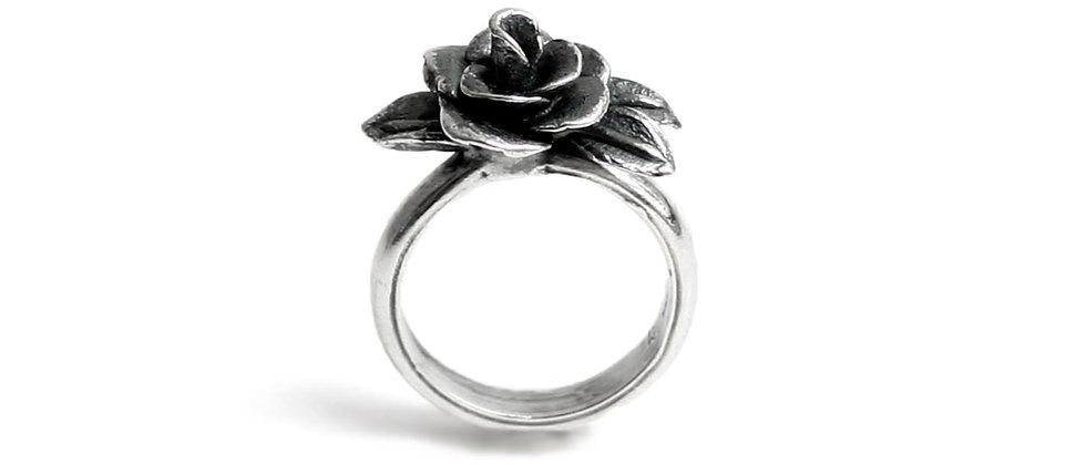 Single Rose Ring 8.5