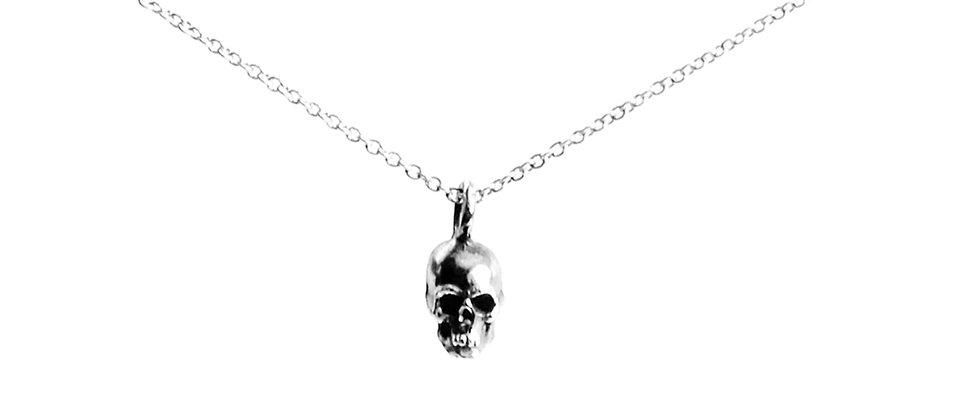Dainty Skull Necklace
